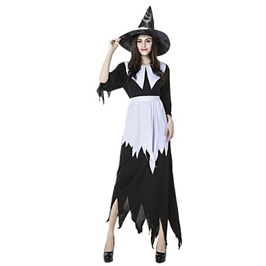 Witch Cosplay Dress Cosplay Costume Halloween Props Women s Halloween  Carnival Festival   Holiday Outfits Vintage 6115754 2019 –  28.99 7b46ca6d3