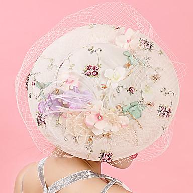 povoljno Party pokrivala za glavu-Til / Šifon / Čipka Fascinators / kape / Ukosnica s 1 Vjenčanje / Special Occasion / Rođendan Glava