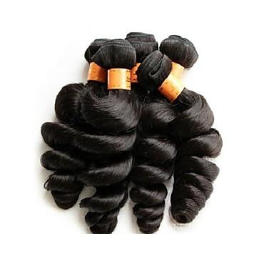 cheap Unprocessed Hair-Human Hair Loose Wave Brazilian Hair 1000 g More Than One Year