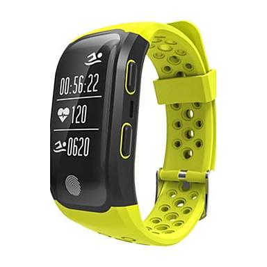 levne Pánské-Pánské Chytré hodinky Módní hodinky Digitální Silikon Kapela Černá Červená žlutá