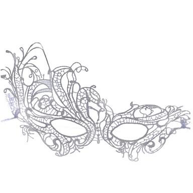 levne Masky-Halloweenské masky Sexy krajková maska Párty Novinka Krajka Jídlo a nápoje Dospělé Chlapecké Dívčí