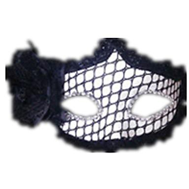 voordelige Maskers voor de feestdagen-Halloweenmaskers Sexy kanten masker Kant Feest Kant Horrorthema Unisex