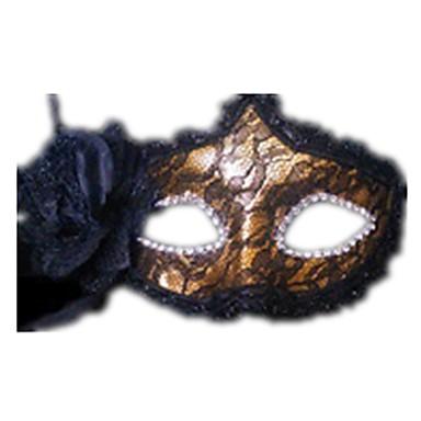 voordelige Maskers voor de feestdagen-Halloweenmaskers Sexy kanten masker Kant Feest Kant Horrorthema Volwassenen Unisex