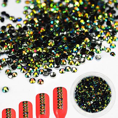 1pcs Rhinestones Nail Jewelry DIY Supplies 3-D Glitters Artistic Fashionable Jewelry Luxury Geometric Jeweled Accessories Glam Active