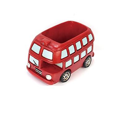 voordelige Auto-interieur accessoires-Diy automotive ornamenten retro kleine auto plant creatieve bloempot huisinrichting individuele auto hanger&ornamenten