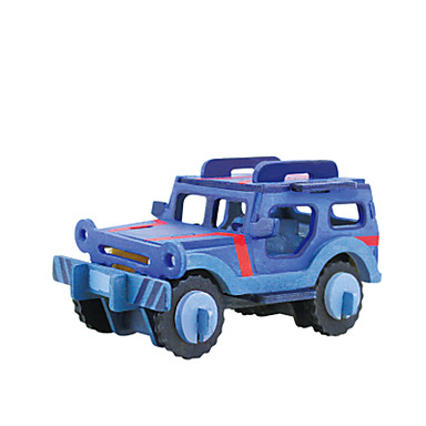 levne 3D puzzle-RUOTAI 3D puzzle Automobily Auto Ručně Vyrobeno Dřevěný 1 pcs DIY Dětské Hračky Dárek