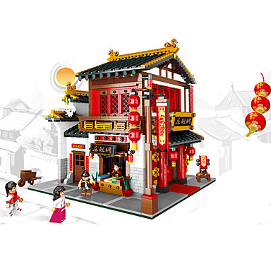 cheap Building Blocks-XINGBAO Building Blocks Military Blocks Construction Set Toys Educational Toy Building Bricks 2787 pcs Chinese Architecture Soldier Building Toys Unisex Boys' Girls' Toy Gift / Kid's