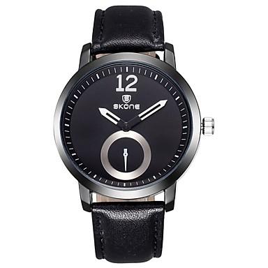 levne Dámské-Pánské Dámské Sportovní hodinky Vojenské hodinky Inteligentní hodinky Křemenný Z umělé kůže Vícebarevný 30 m Voděodolné Chronograf kreativita Analogové Přívěšky Luxus Klasické Vintage Na běžné nošení