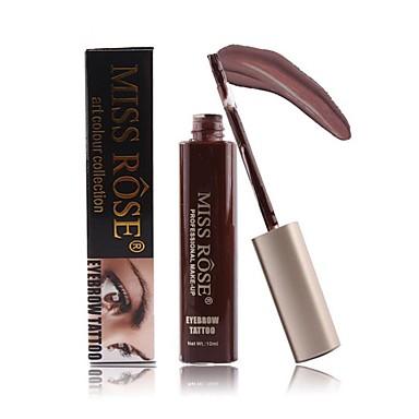 Gel de sobrancelha 1 pcs Maquiagem Prova-de-Água Longa Duração 10 cores Cosmético Artigos para Banho & Tosa