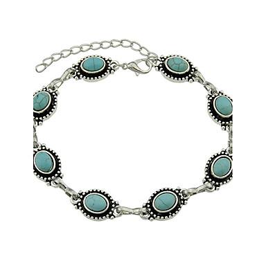 levne Dámské šperky-Dámské Syntetický smaragd Nákotník dámy Punk Módní Smaragdová Nákotník Šperky Modrá Pro Denní Ležérní