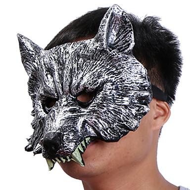 voordelige Maskers voor de feestdagen-Halloweenmaskers Practical joke Gadget Hallloween figuren Carnavalsmaskers Dierenmasker Kumi Nieuwigheid Wolvenkop Horrorthema Volwassenen Unisex