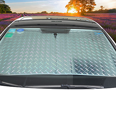 billige Interiørtilbehør til bilen-Kjøretøy Solskjermer og visirer til bilen Car Sun Shades Til Universell Alle år General motors Aluminium