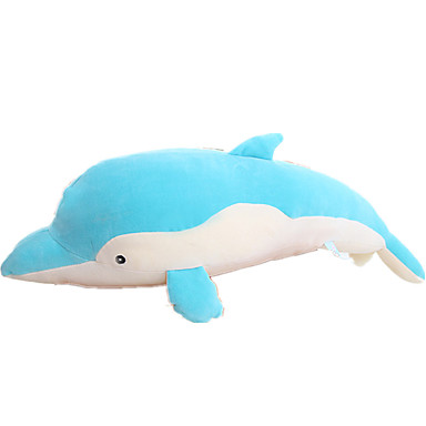 Dolphin Stuffed Animal Plush Toy Pillow Cute Large Size Cotton Girls
