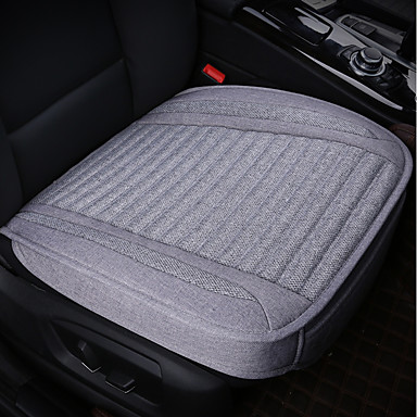 cheap Car Seat Covers-1 piece Car Seat Cushions Seat Cushions Black Polyester Common Car Seat Cover Pad Mat Auto Chair Cushion Universal Car-styling Supports For universal