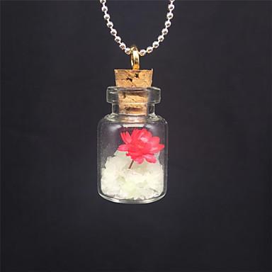 levne Dámské šperky-Dámské Světelný kámen Náhrdelníky s přívěšky dámy Přizpůsobeno Svítící Světelný kámen Bílá Náhrdelníky Šperky Pro Halloween Klub