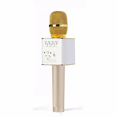 preiswerte Mikrofone-Original-Marke q9 Mikrofon Wireless professionellen magischen Karaoke-Player Mini-Bluetooth-Lautsprecher für iPhone android Handy Karaoke
