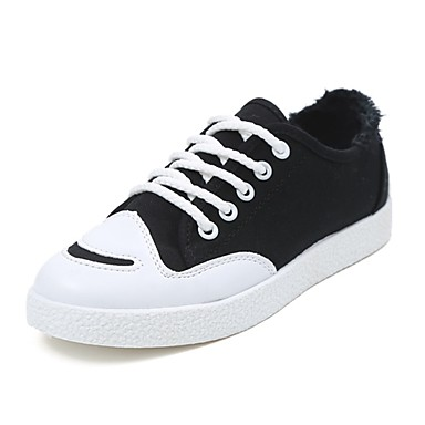 ac1922920d6c Women s Canvas Summer Light Soles Sneakers Flat Heel Round Toe Lace-up Gray    Yellow   Green 6230203 2019 –  16.99