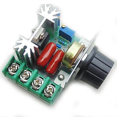Χαμηλού Κόστους Ηλεκτρονικά είδη καταναλωτή-ρυθμιστής ελέγχου ταχύτητας μοτέρ pwm ac ρυθμιστής τάσης 2000w