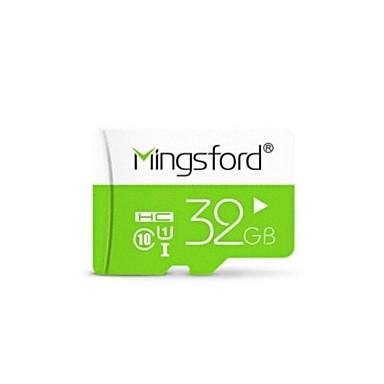 Tarxeta de memoria da tarxeta SD 32GB Class10 Mingsford