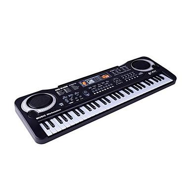 preiswerte Spielzeuginstrumente-Elektronisches Keyboard / Piano / Bildungsspielsachen Piano / Musik Instrumente Wiederaufladbar / Spaß / Simulation Kunststoff Kinder Geschenk