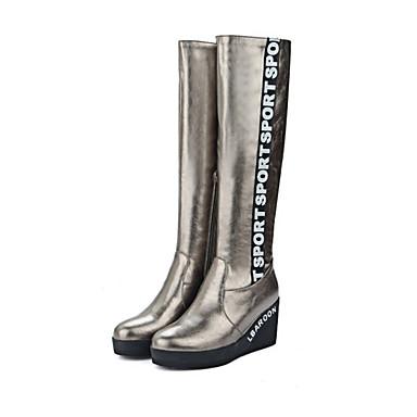 46a3c8aa41 Γυναικεία Παπούτσια PU Χειμώνας Φθινόπωρο Ανατομικό Μοντέρνες μπότες Μπότες  Τακούνι Σφήνα Στρογγυλή Μύτη Φερμουάρ για Φόρεμα Πάρτι   6224163 2019 –   39.99