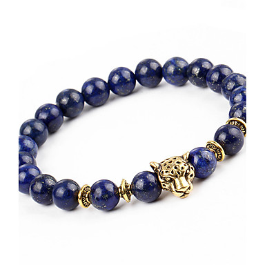 povoljno Modne narukvice-Muškarci Žene Onyx Narukvica s perlama Narukvica Nature Moda Legura Narukvica Nakit Dark Blue Za Dar Praznik