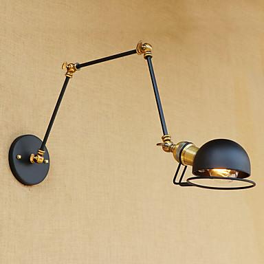 Regional / Retro / Moderno / Contemporâneo Swing Arm Lights Metal Luz de parede 110-120V / 220-240V 2-60W