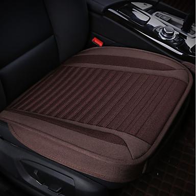 billige Interiørtilbehør til bilen-1 stk bilsete pute sete puter svart polyester felles for universal