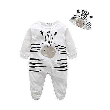 povoljno Odjeća za bebe-Dijete Dječaci Životinjski uzorak Životinja Dugih rukava Jednodijelno Obala