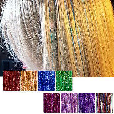 levne Syntetické příčesky-Příčesky z pravých vlasů Volný Klasický Přírodní vlasy Prodlužování vlasů Cross Type Denní
