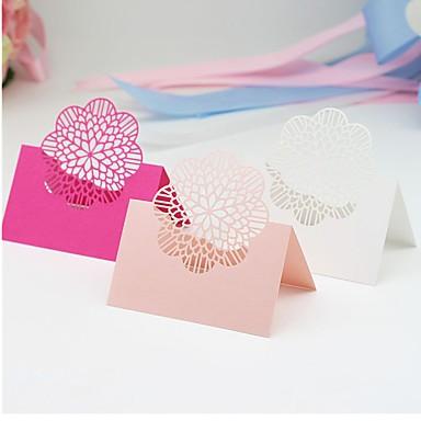 Segnaposto Matrimonio Lightinthebox.Materiale Carta Tabella Centro Pezzi Personalizzato Segnaposto