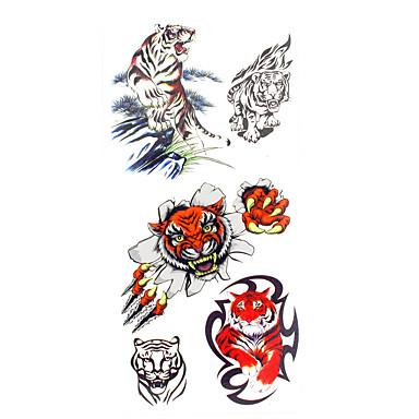 1 pcs Tatuagens temporárias Impermeável Mãos / brachium / pulso Tatuagem Adesiva