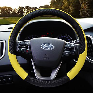 voordelige Auto-interieur accessoires-pu lederen auto stuurhoes antislip beschermer geschikt 38cm, antislip en geurvrij