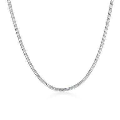 voordelige Herensieraden-Heren Dames Kettingen Standaard Modieus Koper Verzilverd Zilver Kettingen Sieraden Voor Dagelijks Causaal