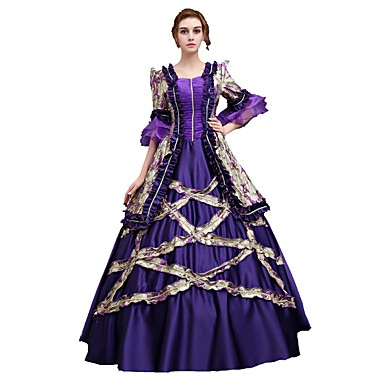 Dress Cosplay Costume Masquerade Ball Gown Women\'s Adults\' Victorian ...