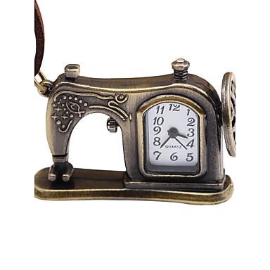 levne Dámské-Pánské Dámské Kapesní hodinky Mechanické manuální natahování Kůže Hnědá kreativita Žhavá sleva Analogové Vintage - Bronzová