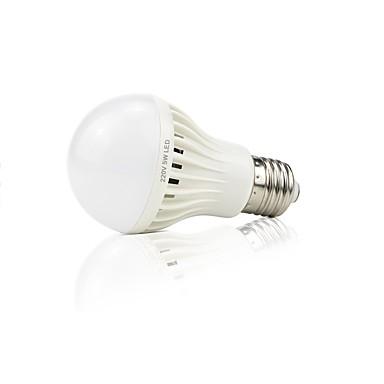 preiswerte LED Birnen-1pc 4 W Smart LED Glühlampen 399 lm 16 LED-Perlen SMD 2835 Geräusch aktiviert Dekorativ Lichtsteuerung Weiß 220 V