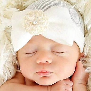 povoljno Dodaci-Novorođenče Pamuk Chambray Ukrasi za kosu Obala / Blushing Pink / Svjetloplav One-Size / Kosa Kravata