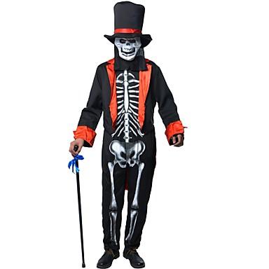 Scheletro Per Natale Completi Feste Teschio Mago Uomo Halloween t4qtrw