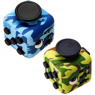 preiswerte Dekorative Objekte-Camouflage zappeln cube finger hand top magie squeeze puzzle cube arbeit klasse hause edc hinzufügen adhd anti anxiety stress reliever 1 stück