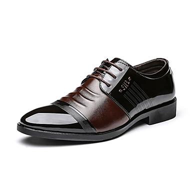 Pánské Společenské boty mikrovlákno Jaro   Podzim Oxfordské Černá   Hnědá    Nýty   Venkovní 6198740 2019 –  19.99 4af92a9b6d