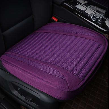 voordelige Auto-interieur accessoires-1-delige autostoelkussens zitkussens zwart polyester algemeen voor universeel