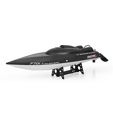 cheap RC Boats-RC Boat FT011 Speedboat Plastic / ABS 4 pcs Channels 55 km/h KM/H