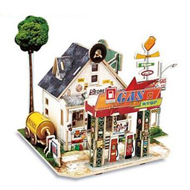 RUOTAI Παζλ 3D Ξύλινα μοντέλα Kit de Construit Σπίτια Ξύλο 1pcs Παιδικά Δώρο