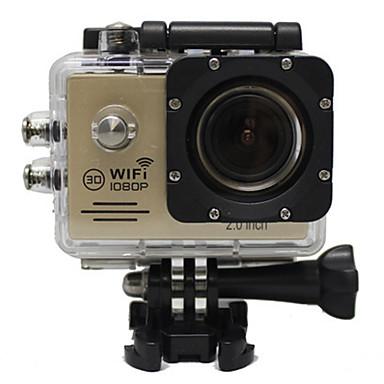 QQT G60Q GoPro Υπαίθρια αναψυχή vlogging Για Υπαίθρια Χρήση / Υψηλή Ανάλυση / Φορητά 32 GB 30fps 8 mp / 6 mp Όχι 1280 x 720 Pixel 2 inch CMOS H.264 Μονή λήψη / Χρονικά καρέ 30 m -1/3