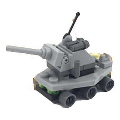 preiswerte Verriegelungsblöcke-Bausteine Panzer Panzer Weicher Kunststoff 1 pcs Kinder Jungen Spielzeuge Geschenk