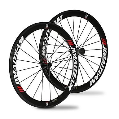 SHENHUA 700CC Conjuntos de Rodas Ciclismo 23 mm / 25 mm Bicicleta de Estrada Fibra de carbono / Carbono total Com Tubo 20/24 Raios 50 mm
