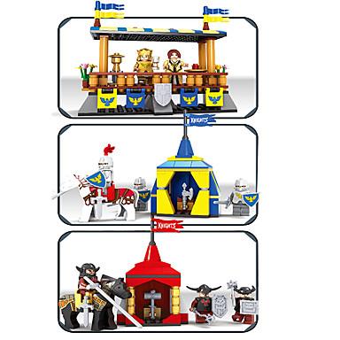 AUSINI Τουβλάκια Κατασκευασμένα Παιχνίδια Εκπαιδευτικό παιχνίδι 1467 pcs Αρχιτεκτονική Κάστρο Πύργος συμβατό Legoing Σχέδιο καρτούν Αγορίστικα Κοριτσίστικα Παιχνίδια Δώρο