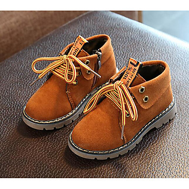 Αγορίστικα Παπούτσια Δέρμα Nubuck Φθινόπωρο Χειμώνας Μπότες Χιονιού Μπότες  για Causal Μαύρο Καφέ Πράσινο Χακί 6299682 2019 –  9.99 4417605297c
