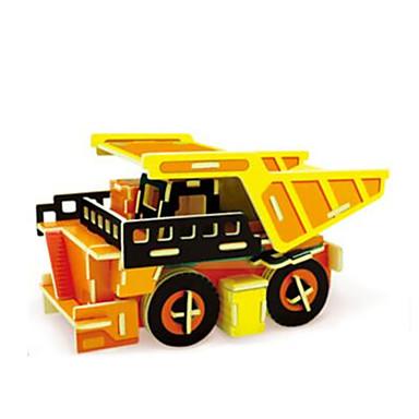 levne 3D puzzle-RUOTAI 3D puzzle Automobily Náklaďák Dřevěný 1 pcs Náklaďák Dětské Dospělé Hračky Dárek